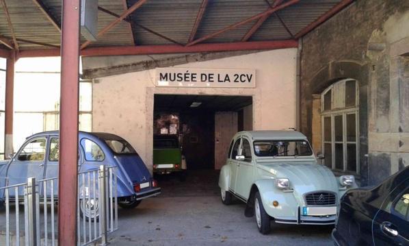 Journée au Musée de la 2cv