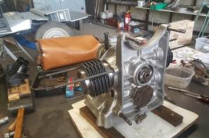 remontage du moteur de l'UMAP