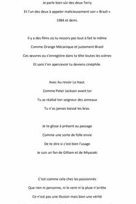 Texte à l'attention d'Albert DUPONTEL