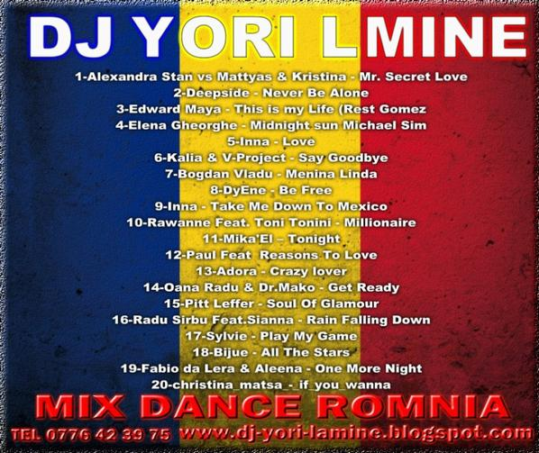 DJ YORI  LAMINE MIX DANCE ROMANIA
