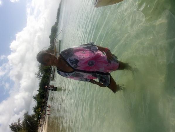 la plage trou au biche