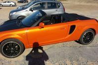 voila mes petit bolide reuni et petite aprem a biarritz avec le cab orange