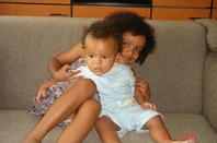 Ma nièce avec ke reste de la famille