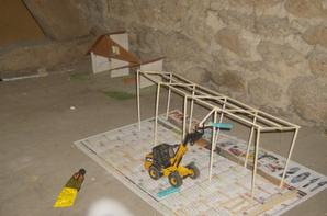 quelque photo du dioramas en construction
