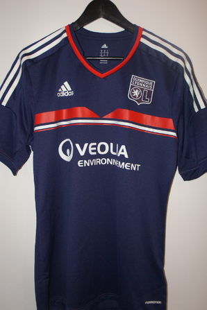 maillot OL 2013 - 2014 europe