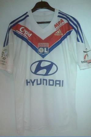 maillot Lyon 2013 - 2014 championnat