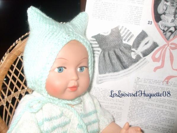 """bonnet """"oreilles de chat'"""