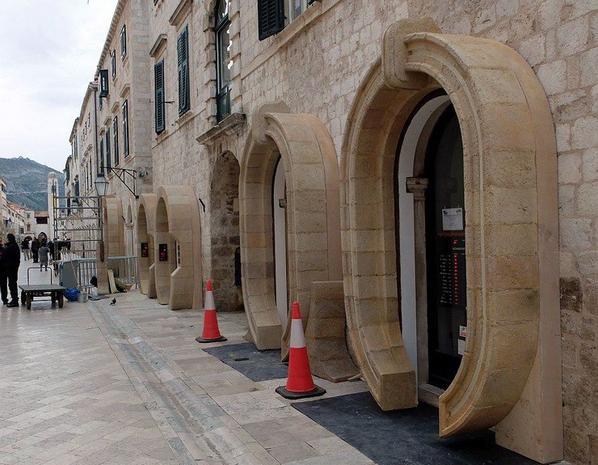 Episode VIII : nouvelles photos du décor en Croatie