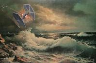 Insolite : des personnages de Star Wars peints sur des tableaux