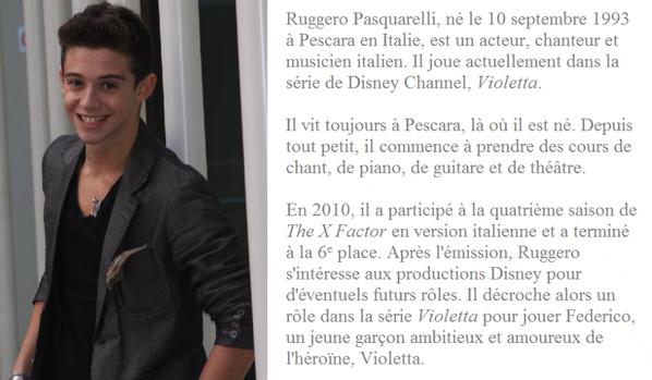 Biographie des acteurs de Violetta 2