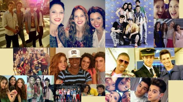 Assemblage de photos des acteurs de Violetta, vous en pensez quoi ?