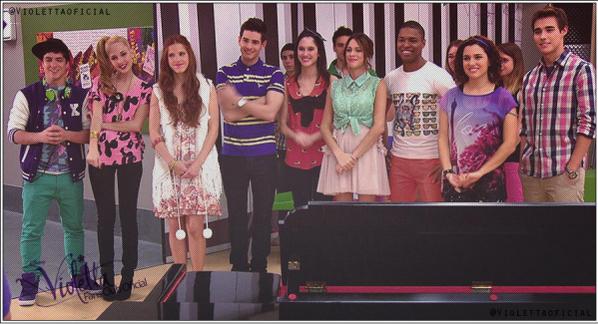 Photos de groupe de Violetta saison 2