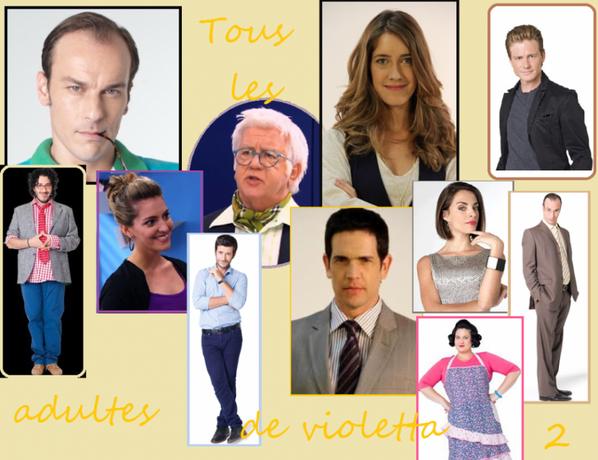 Casting complet de Violetta saison 2 !