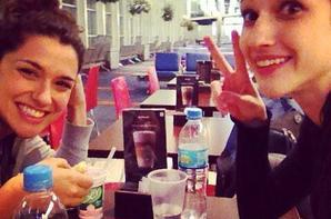 Nos belles Alba et Lodovica toujours ensemble !  <3