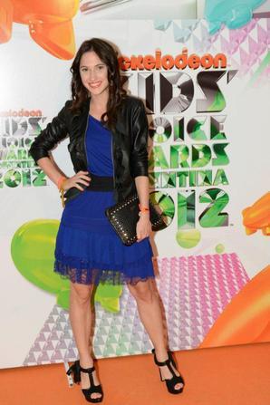 Photos des actrices de Violetta lors des Kids Choice Awards Argentina 2012 !  <3