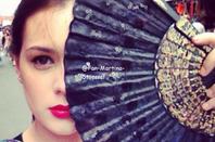 5 autres photos de  Valéria lorsqu'elle était à NY