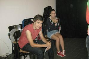 Backstages de l'épisode 40 de Violetta 2 ! <3