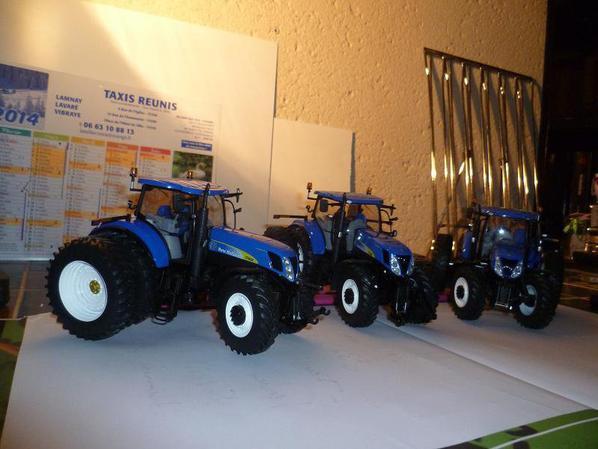 petit trio de NH t7050 version americaine