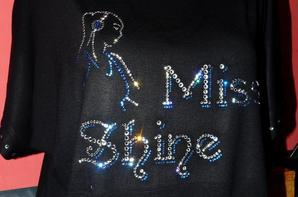 "Ma collection personnalisée "" Miss Shine"" Cristal Swarovski"