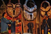 """لقطات من مسرحية الزكروم (البخيل) لفرقة """"مسرح الثلاثة"""" بالمركز الثقافي بمدينة سطات ــ 10/12/2016"""