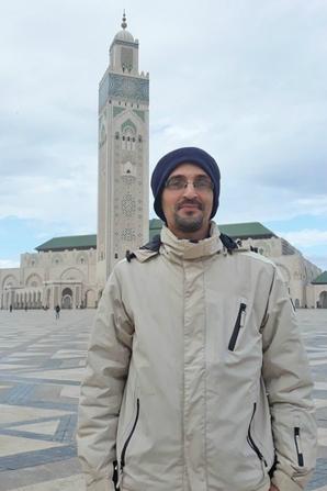 The Hassan II Mosque or Grande Mosquée Hassan II