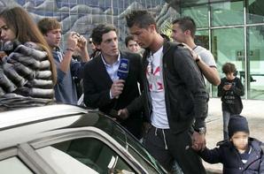 Cristiano Ronaldo, Irina Shayk et Cristiano Junior à Madeire.
