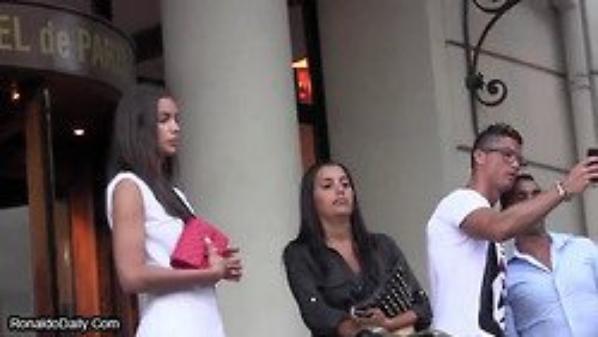 Cristiano et Irina Shayk le 5 Juillet à l'Hôtel de Paris a Monaco