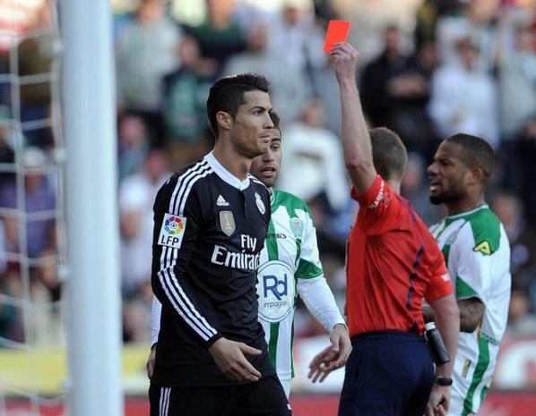 Cristiano lors du match contre Cordoba (24/01)