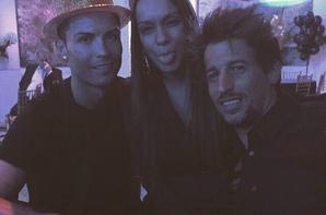 Cristiano lors de sa fête d'anniversaire (7/02)