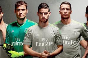 Présentation des maillots pour la saison 2015/2016