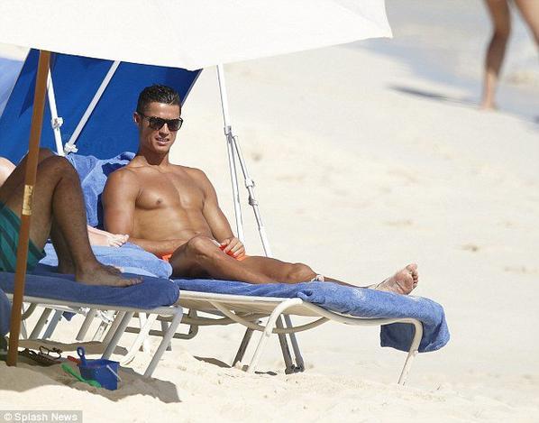 Cristiano aux Bahamas (22/06)