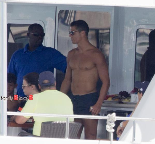 Cristiano et Junior à Miami (25/06)