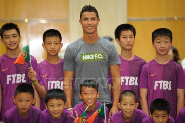 Cristiano à Shangai (9/07)