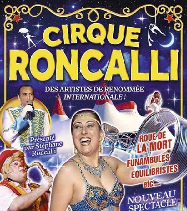 Cirque Roncalli à CIVAUX, SAUMUR, NIORT