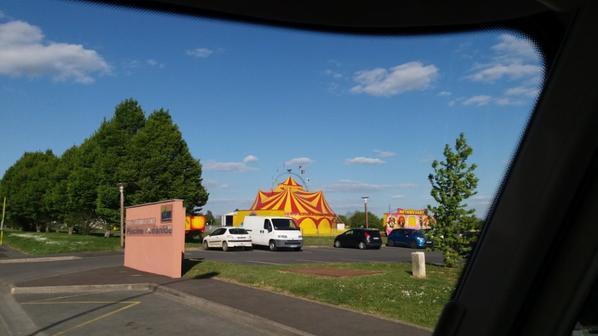 cirque MATHIEU HART A FONTENAY LE COMTE