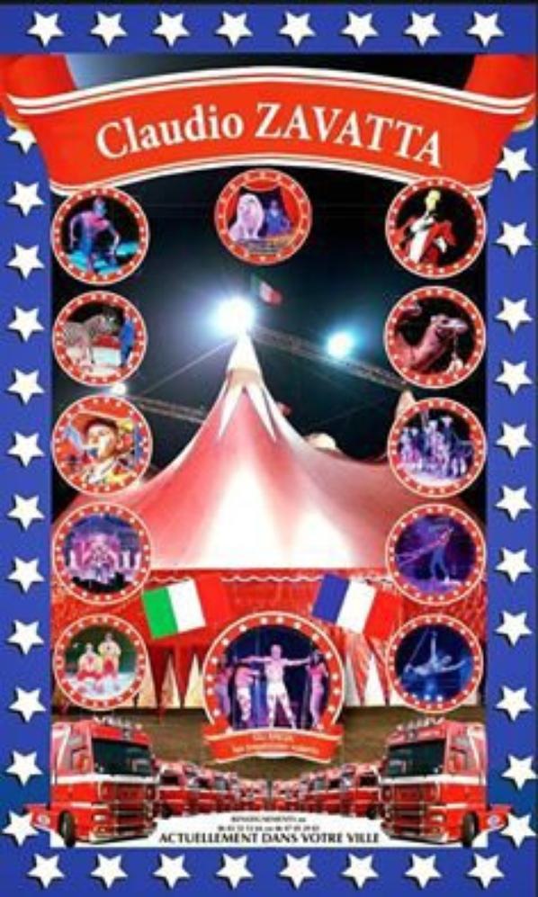 Le Cirque Claudio ZAVATTA à THOUARS
