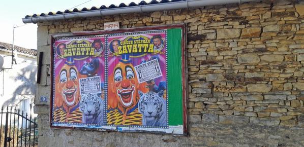 cirque Stephan  zavatta  a saint verge