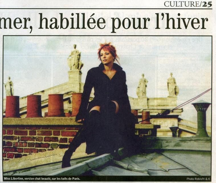 Mylène Farmer - Interview - Le Journal du dimanche - 08 janvier 2006