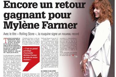 Les Rares Apparition de Mylène Farmer sur les plateaux de TV ?