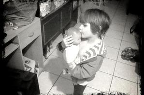 Ma petite princesse.