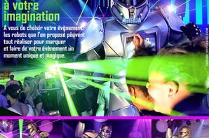 ROBOT-PERFORMER au salon de chicha LE DIAMOND samedi 21 décembre 2013 !