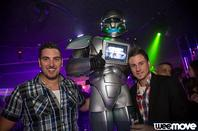 ROBOT PERFORMER COMPLEXE LAS VEGAS PARIS INAUGURATION !