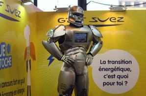 ROBOT PERFORMER et GDF SUEZ SALON DU LIVRES DE PARIS 2015 !