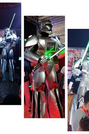 ROBOT-PERFORMER ARABIE SAOUDITE SEPTEMBRE 2017