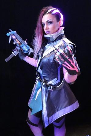 Cosplay de Sombra (Overwatch)