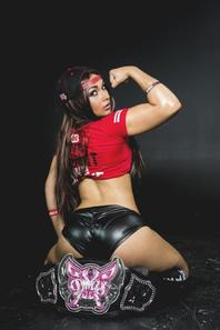 Cosplay de Nikki Bella (Catch-WWE)