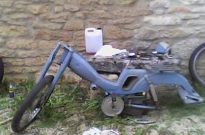 Projet : Restauration Motobécane AV88 - Démontage