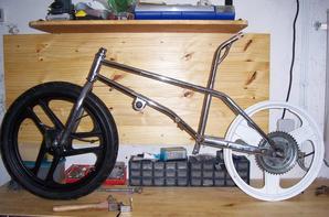 """Projet : MBK Crazy-bike """"Polini concept"""" - Roues (1)"""