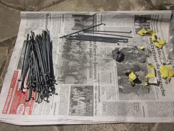 Projet : Restauration Motobécane AV88 - Roues (1)