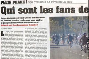 """Fête de la mob à Graulhet - Reportage dans """"La vie de la moto"""""""